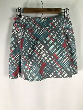 Terry Women's Medium Size Multicolor Cycling Skirt With Liner and Padding