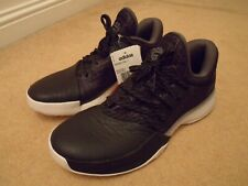 New adidas AH2116 HARDEN VOL 1 core black basketball trainers shoes UK 9 / 43