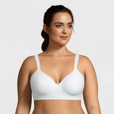 Bali Womens Size 34D White Dot Comfort Revolution Wireless Padded Bra 020