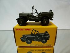 DINKY TOYS ATLAS 80 B 80B JEEP HOTCHKISS-WILLYS - ARMY GREEN 1:43 - MINT IN BOX