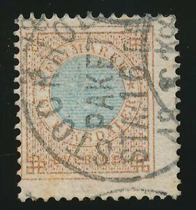 Schweden Nr. 26 B gestempelt, 1 Riksdaler Zähnung B (49964)
