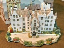 "Rare Lilliput Lane Scottish Castle ""Blair Atholl Signed by David Tate 760/3000"