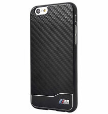 BMW Real Carbon Fiber Aluminium Hard Case for iPhone 6/6S Black (BMHCP6MDCB)