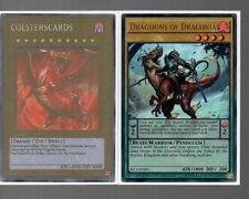 Yugioh Card - Ultra Rare Holo - Dragoons Of Draconia SECE-ENSP1 Limited Edition