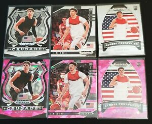 🔥🏀 LaMELO BALL  2020 Prizm Draft Picks 6 card lot Pink Ice Rookie Card RC