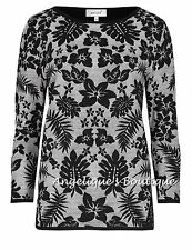 Per Una Hip Length Floral Stretch Tops & Shirts for Women