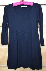 LAURA ASHLEY BLACK TUNIC/DRESS UK 10