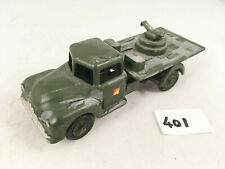 VINTAGE BENBROS QUALITOY # A102 ANTI-AIRCRAFT TRUCK ARMY MILITARY DIECAST TOY