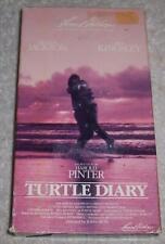 Turtle Diary VHS Video Glenda Jackson Ben Kingsley