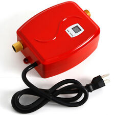 Red Mini Electric Tankless Instant Hot Water Heaters Kitchen Washing 3000W