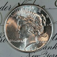 * 1926-P * CHOICE - GEM BU MS PEACE SILVER DOLLAR * FRESH FROM ORIGINAL ROLL *