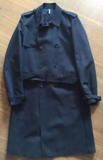 AUTHENTIC DIOR HOMME Paris Men's Trench Coat 48 Black Hiver '10