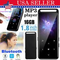 16G Bluetooth Portable MP4 Media Lossless MP3 Player HiFi Audio Player FM Radio