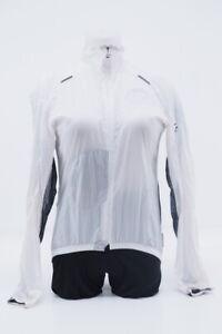 Assos SJ. BlitzFeder Lightweight Cycling Shell Jacket Size: Small (White/Black)