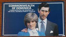 Dominica – 1981 Royal Wedding Booklet – UM (MNH) (Se9)