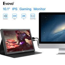 "Portable 10"" 2K HDR HDMI Gmaing Monitor For Raspherry Pi Laptop Nintendor Switch"