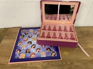 Disney Princess Jewel Box Draughts set Cinderella Sleeping beauty collectable