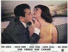 TONY CURTIS  NATALIE WOOD SEX AND THE SINGLE GIRL 1964 VINTAGE LOBBY CARD #1