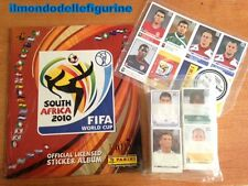 ALBUM SOUTH AFRICA FIFA 2010 + Set completo di figurine Panini