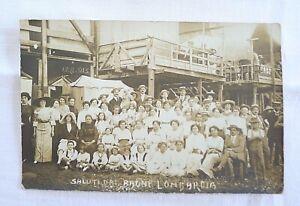 FOTO ANTICA MARE COSTUME MODA GENOVA BERTORELLO 1912 BAGNI LOMBARDIA CORNIGLIANO