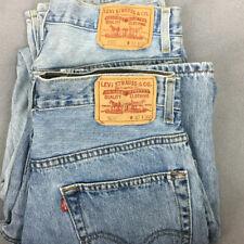 Lot Of 2 Used Levis Light Wash 505 Denim Jeans Mens Sz 32x30