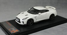 Premium X Nissan GT-R in White Metallic 2017 PRD584 1/43 NEW Limited Edition