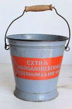"""RAR !! Antike Emaile-Werbung  schabloniert """"Estermann Margarine"""" Österreich~1920"""