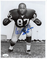 PACKERS Willie Davis signed photo 8x10 w/ HOF 81 JSA COA AUTO Autographed HOFer