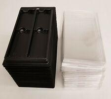 (18)Anti-Static Packaging Trays w/Lids for (2)Server/Desktop DIMM Memory Modules