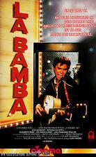 *VHS - La BAMBA - Esai MORALES, Rosana De SOTO (1987)