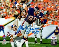 Mark Bavaro autographed signed 8x10 photo NFL New York Giants PSA COA