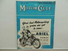 March 1958 THE MOTORCYCLE Magazine Ariel BSA Sunbeam Scramble L8252