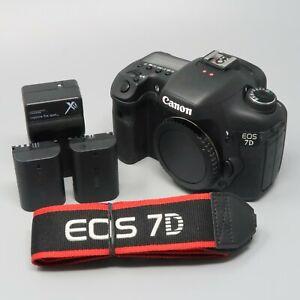 Canon EOS 7D 18.0MP Digital Camera Body - 735 Clicks!