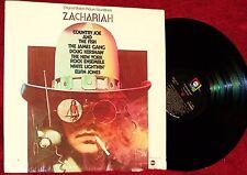 OST ZACHARIAH COUNTRY JOE & THE FISH JAMES GANG DOUG KERSHAW 1970 ABC NM  SHRINK