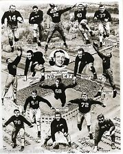 Notre Dame Football Team in 1947 Coach Leahy Vintage Notre Dame Unique Photo WOW