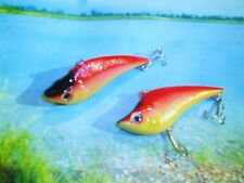 DOLPHIN SUPER SHAD TYPE ,BASS CATCHER  BIG EYE  3 1/2 INCH LURE / LOUD RATTLES