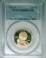2001-S PCGS PR69DCAM proof Sacagawea gold dollar