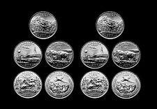 2006 P+D Nevada Nebraska Colorado North Dakota South Dakota U.S. Mint Roll Set
