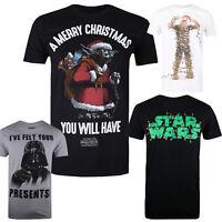 Star Wars - Christmas - Festive - Gift - Mens - T-shirts - Size S,M,L,XL,XXL