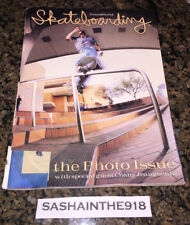 Transworld Skateboarding Photo Issue August 1997 Chany Feature Jeremy Wray Cover