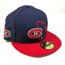 Chicago Blackhawks Navy Blue Fitted Hat Cap Size 7 1/2 New Era 5950 States Model