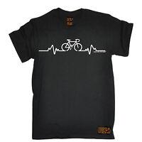 Cycling Bike Heart Beat Pulse T-SHIRT Cyclist Bike Jersey birthday fashion gift
