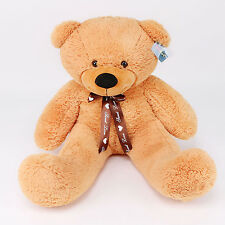 "Joyfay® 39"" 100cm Orange Teddy Bear Giant Big Huge Plush Toy Birthday Gift"
