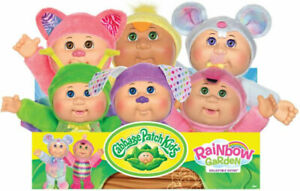 """Cabbage Patch Kids 9"""" Rainbow Garden Party Cuties Scented Dolls"""