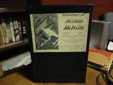 Romances of Herman Melville, 1928, hc w/slip case, Illustrated, Moby Dick, Typee