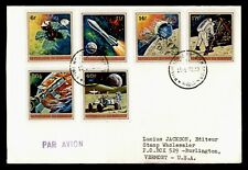 DR WHO 1972 BURUNDI SPACE EXPLORATION AIR MAIL FDC C190599