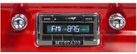 NEW! 1965-1966 Mustang AM FM USA-230 Stereo Radio Chrome Knobs 200 Watts