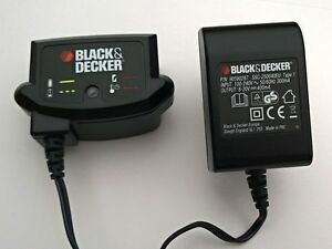 CARICA BATTERIE BLACK&DECKER PER TRAPANO,TAGLIATRICE E TAGLIABORDI cod. 90590287