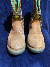 John Deere Brown/Green 5.5m Boots