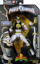 Power Rangers (Classic) ~ WHITE RANGER LEGACY ACTION FIGURE ~ MMPR Morphin